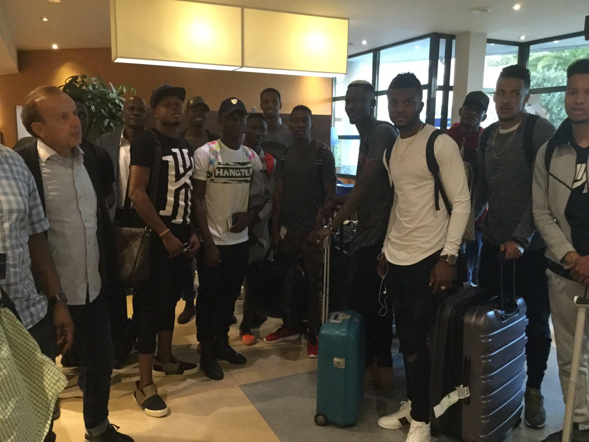 Etebo, Echiejile, NPFL Stars land in Corsica for Eagles friendly