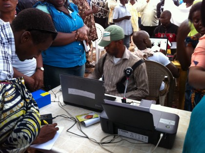 CVR: INEC registers 57,737 people in three days