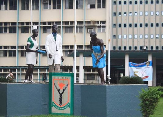 LUTH health workers shut down hospital