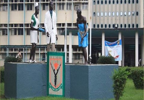 LUTH management evicts protesting Resident Doctors from call room