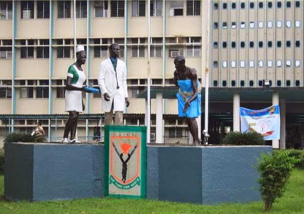 LUTH protest : Management accuses health workers of insincerity