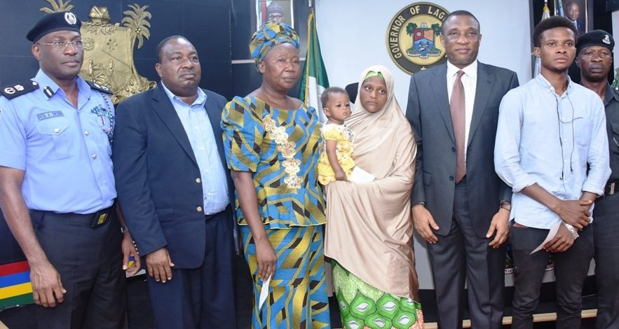 Ambode donates N55m to families of slain security officers