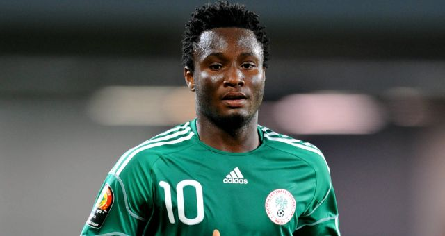 Mikel ruled out of Nigeria-South Africa clash