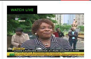 Lagos Launches free internet service at Muri-Okunola park