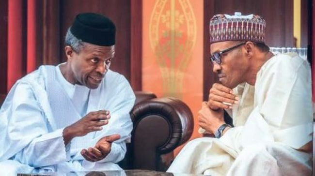 Osinbajo takes over as Buhari off to London for medical follow-up