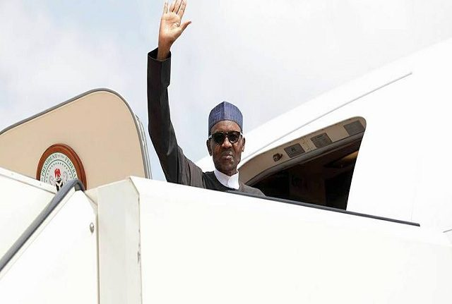 Breaking: President Buhari travels for medical follow-up