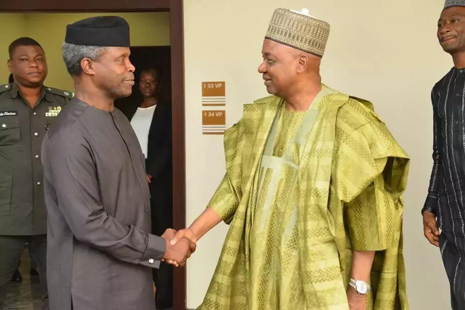 Ex-VP Sambo visits Acting President Osinbajo