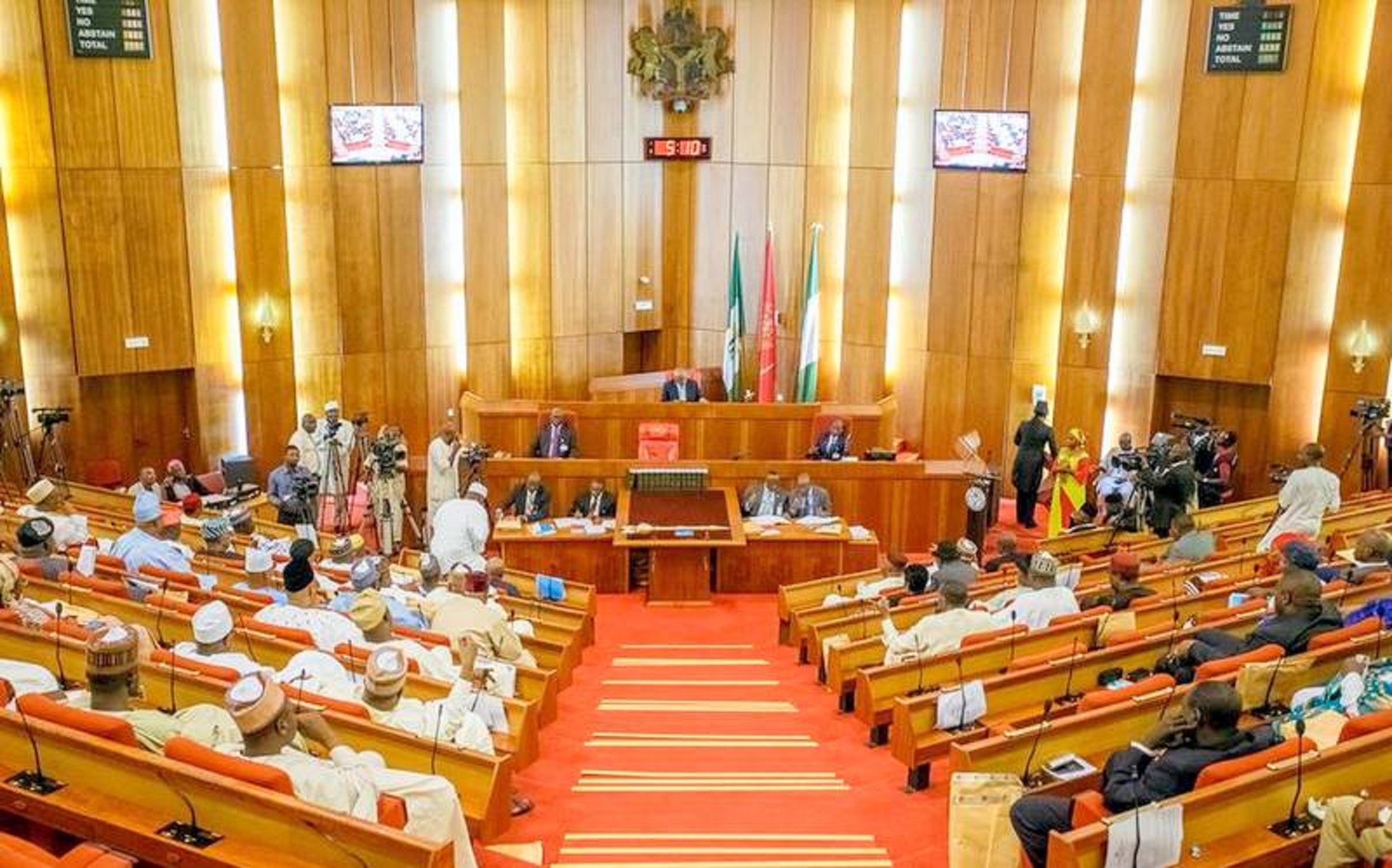 Senate accuses Ministry of Justice, others of obstructing anti-graft war