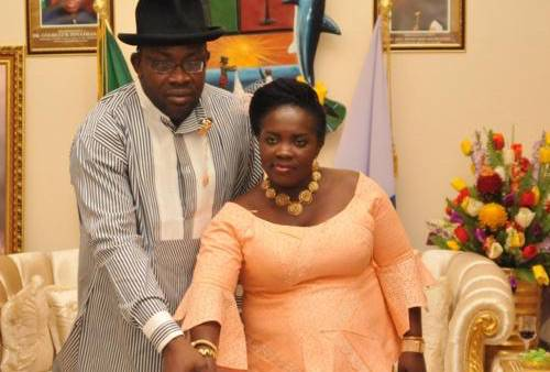 Bayelsa election win : Dickson's wife thanks the Church