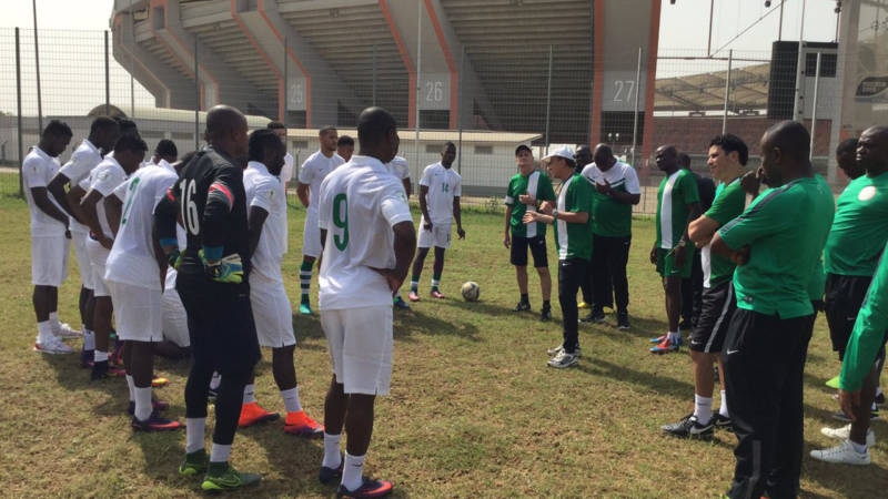 Rohr to invite local players for S/Africa clash