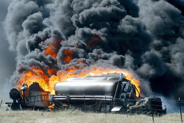 Ibadan: Diesel tanker detaches, burns woman to death