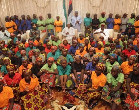 Rescued Chibok girls: Maiduguri residents hail Buhari's government