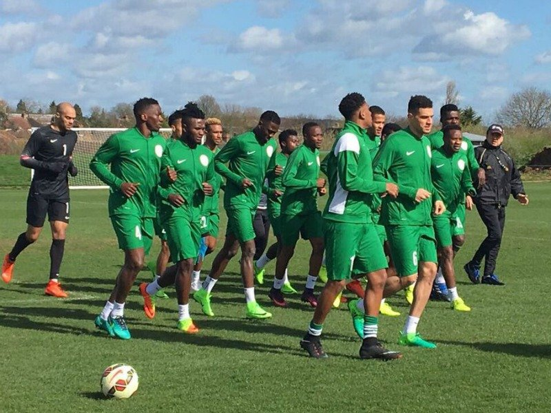 Nigeria's Super Eagles arrive Uyo for S/Africa clash