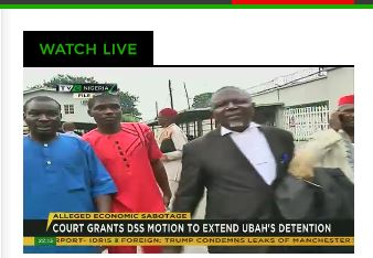 Court grants DSS motion to extend Ubah's detention