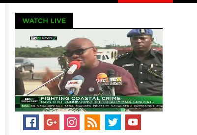 Governor Wike, Navy commissions eight locally made gunboat