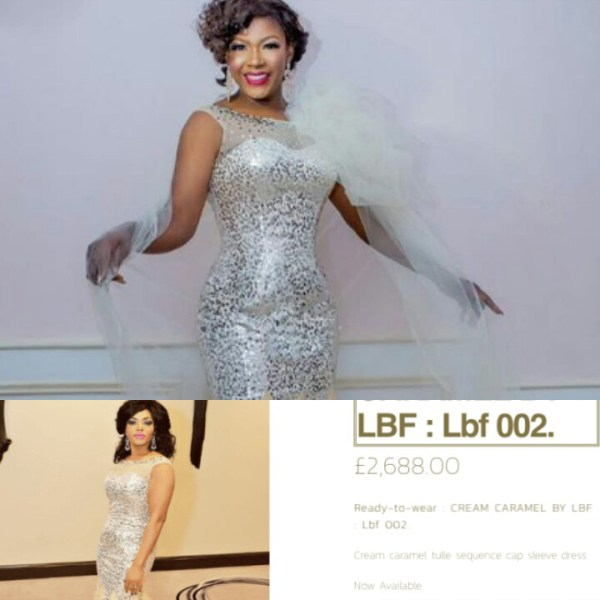 Susan Peters rocks N1m dress for birthday shoot