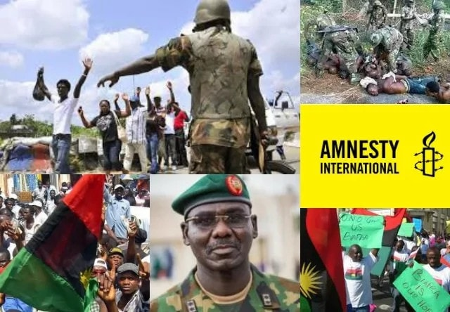 Human Rights Violations: Nigerian Army denies Amnesty International's accusations