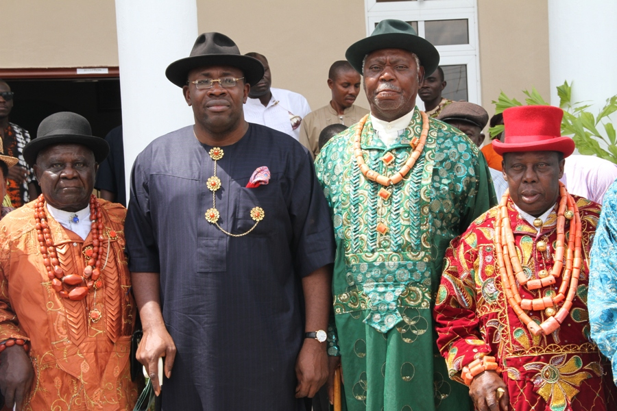Bayelsa governor urges traditional rulers to promote peace