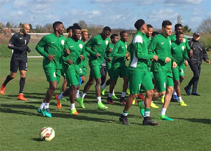 Rohr unveils 23 man-list for S'Africa clash