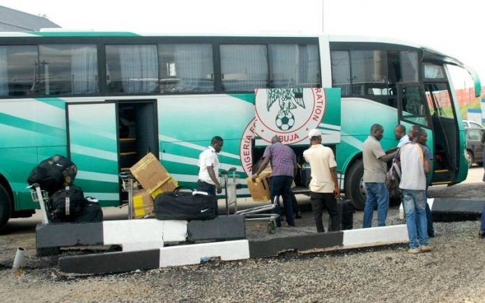 AFCON 2019 qualifier : Super Eagles depart Abuja for Uyo