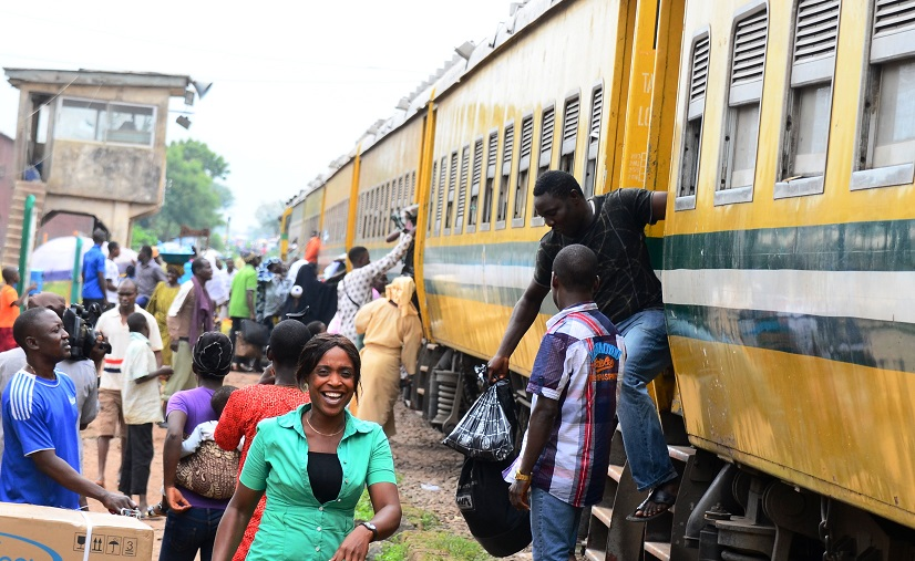 More than 110,000 people get fee train rides in Osun