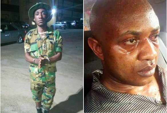 Police arrest army officer who belongs to kidnapper Evans' gang
