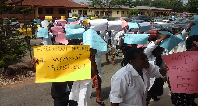 FMC Abeokuta staff protest against imposition of new CMD