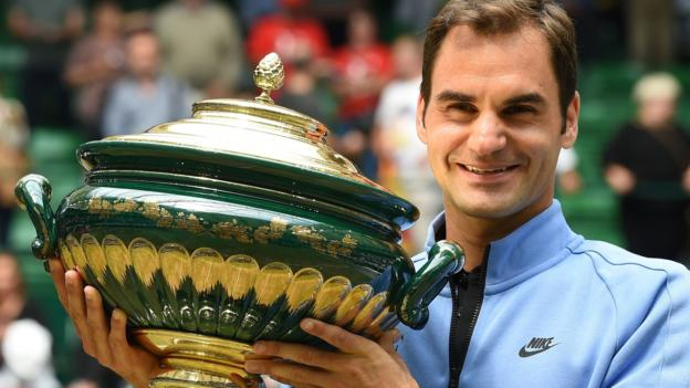 Federer beats Zverev to win Gerry Weber Open in Halle