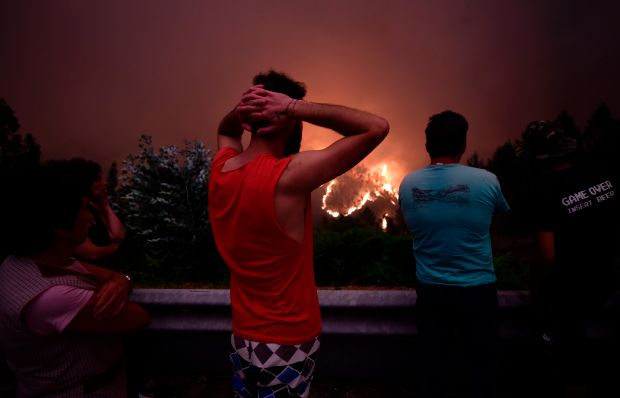 Portugal declares three-day national mourning for victims of deadly forest fires