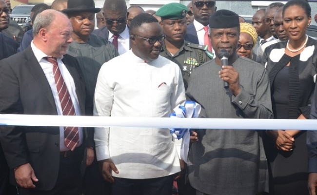 Osinbajo lauds Ayade for achievements in Cross Rivers state