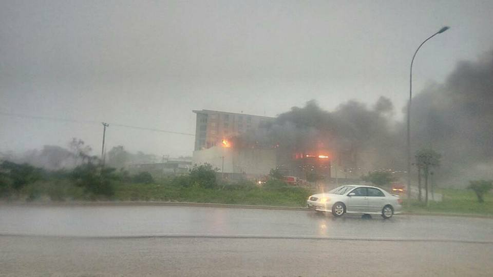 Fire guts House on The Rock Church Abuja