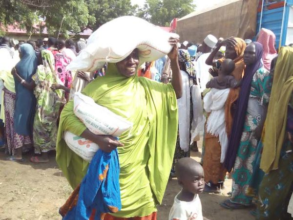 NEMA confirms delivery of 200 trucks of food items to IDPs