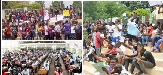 UTME: Candidates protest against inability to change institution