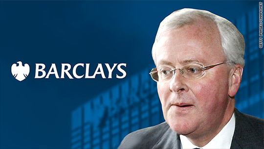 Barclays' ex-CEO charged over Qatar funding