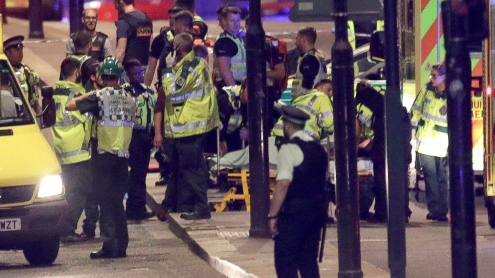 Seven people killed, 12 suspects arrested after London terror attack