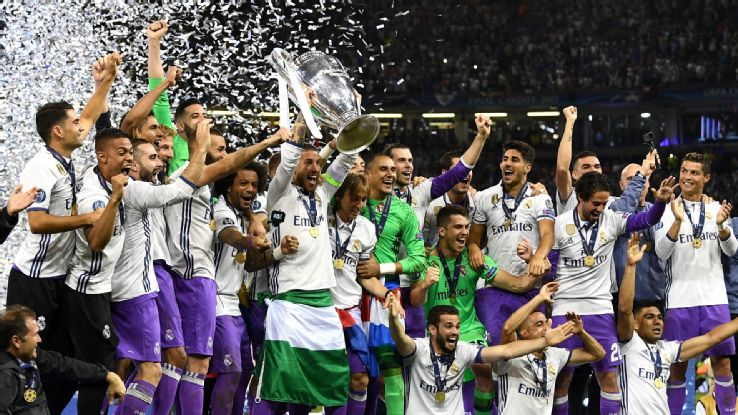 UCL : Madrid beat 10-man Juventus, clinch 12th title