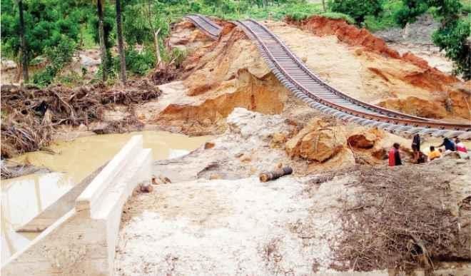 Mokwa-Jebba bridge collapse : Rail services set to resume