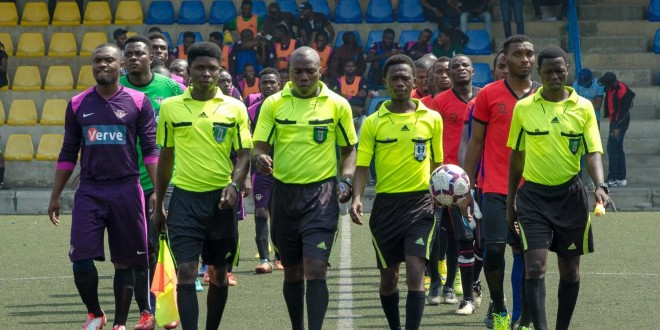 Nigerian match officials set for FIFA Elite
