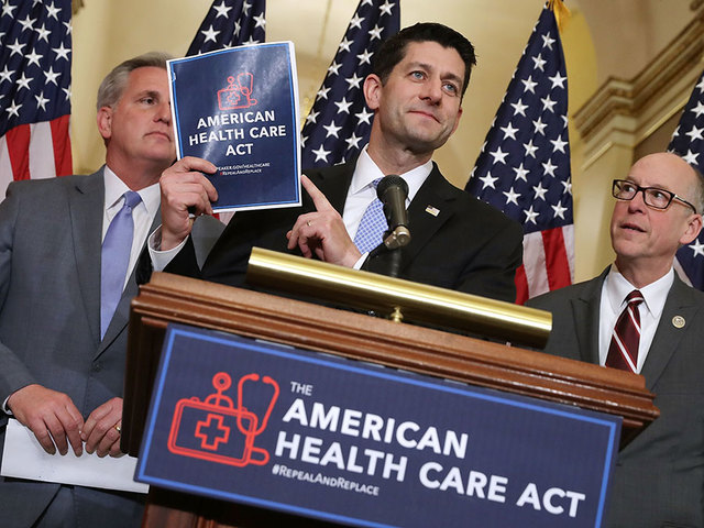 Republicans delay vote on bill to replace Obamacare