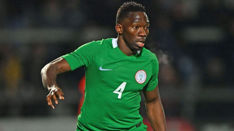 Omeruo won't blame Rohr for dropping him for Awaziem