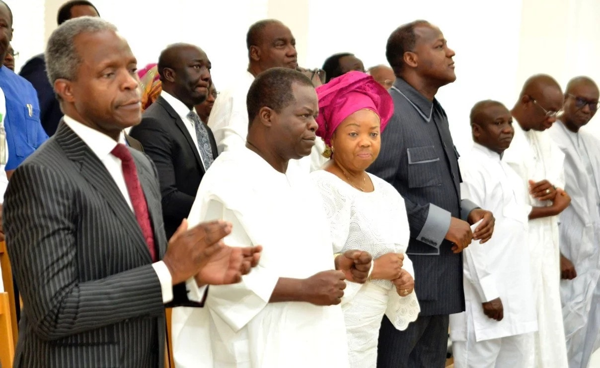 Osinbajo urges church leaders to expose and ostracize corrupt church members