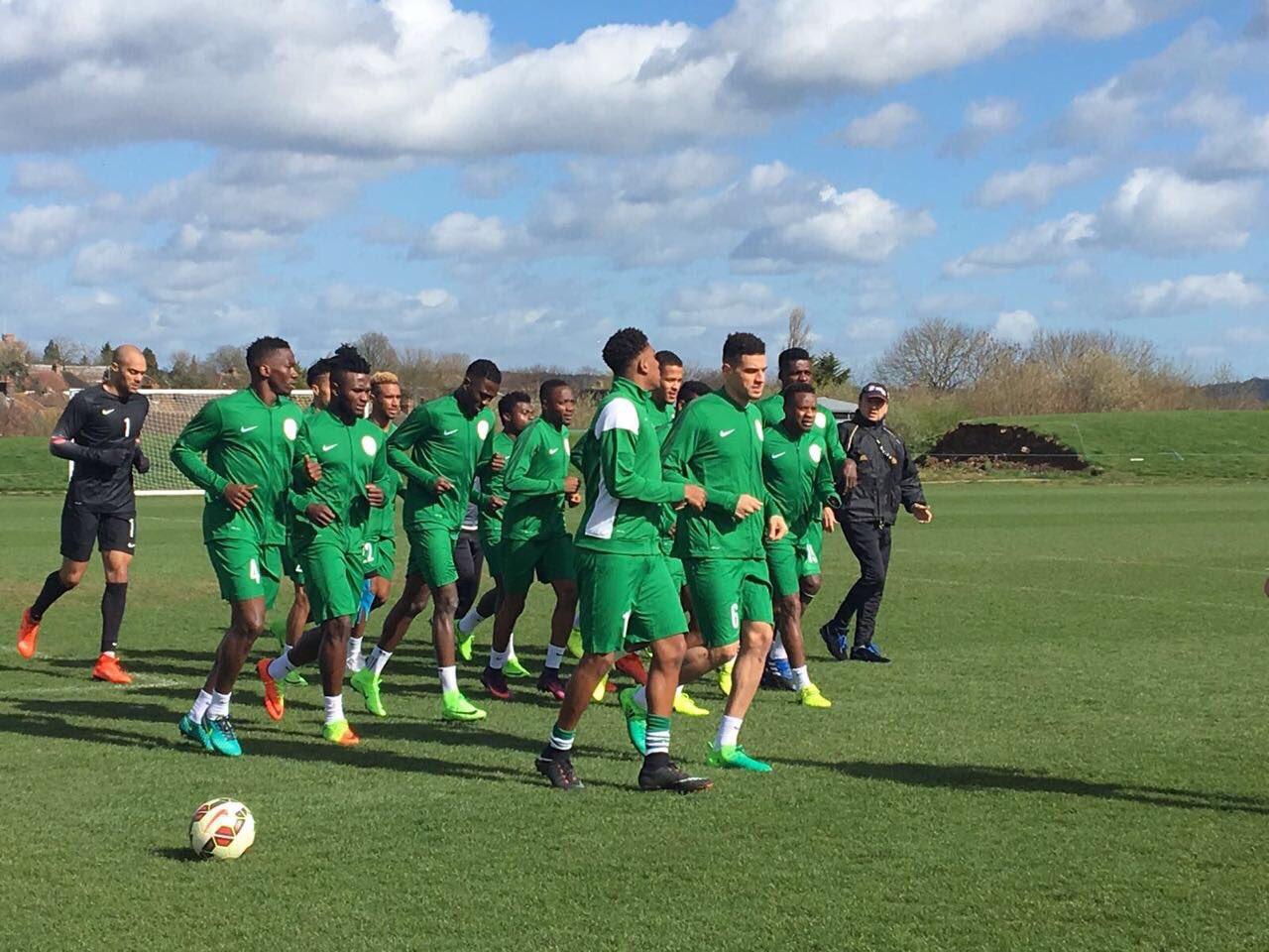 Musa, Omeruo, Echiejile arrive Super Eagles camp