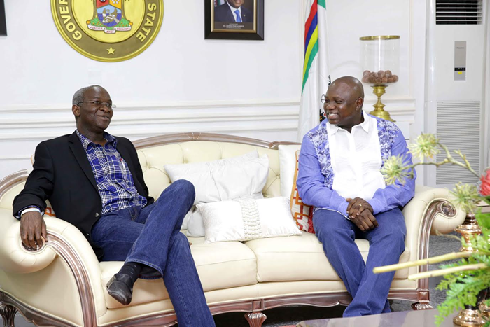 Ambode gets permission to begin reconstruction of Airport road
