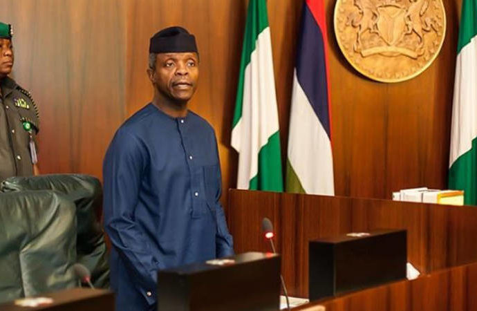 2017 budget : Osinbajo seeks NASS's approval to re-allocate N135bn