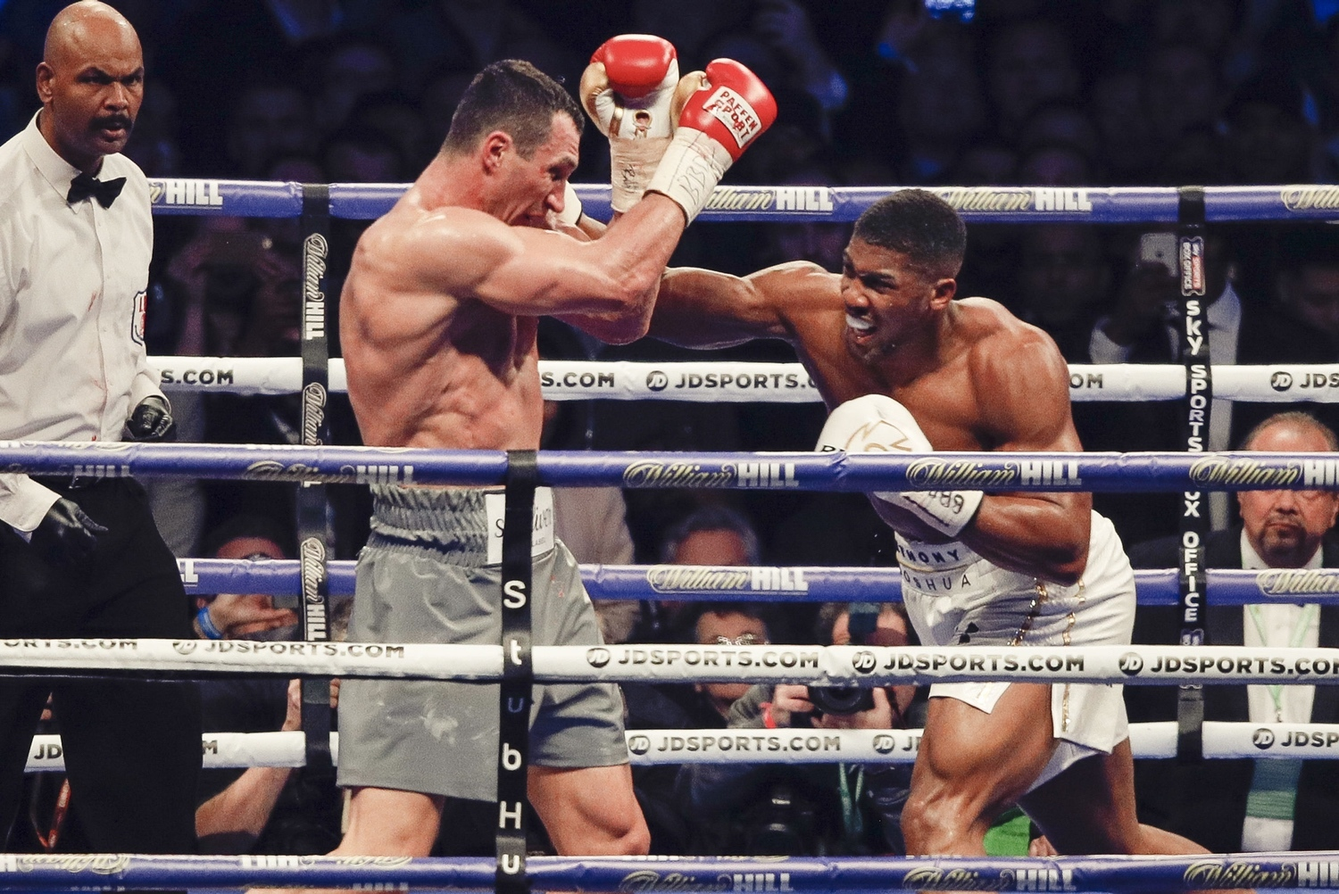 IBF grant exception for Joshua-Klitschko rematch