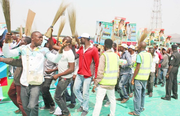 Lagos LG Poll: Party faithful rally round APC candidates