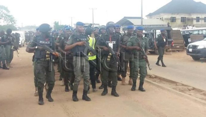 Ondo police embark on massive raids on criminal hideouts