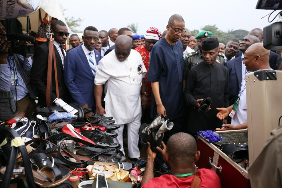 Osinbajo meets with Small and Medium Scale Entrepreneurs