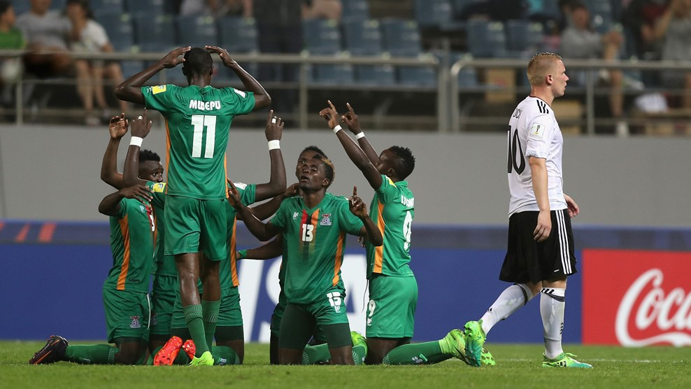 AFCON U-20: Zambia rally to beat Germany 4-3 to reach quarters