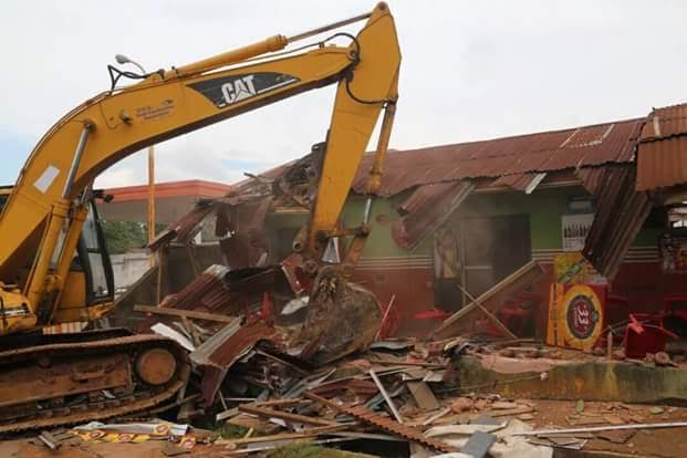 Abia govt demolishes more kidnappers' hideouts